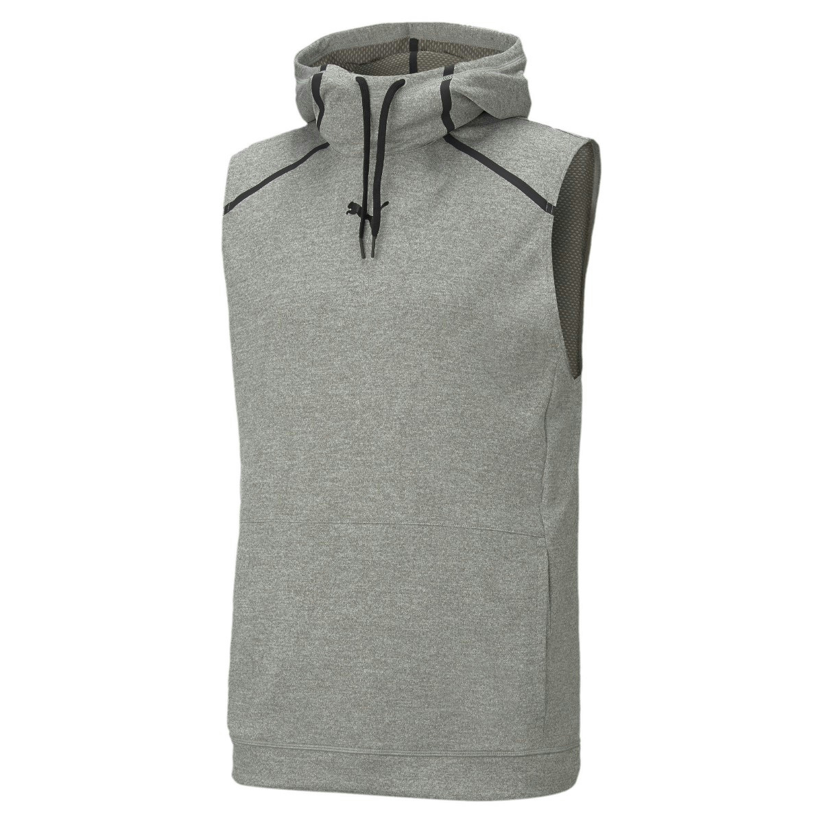 TRAIN TECH KNIT SLVS HOODIE M grau