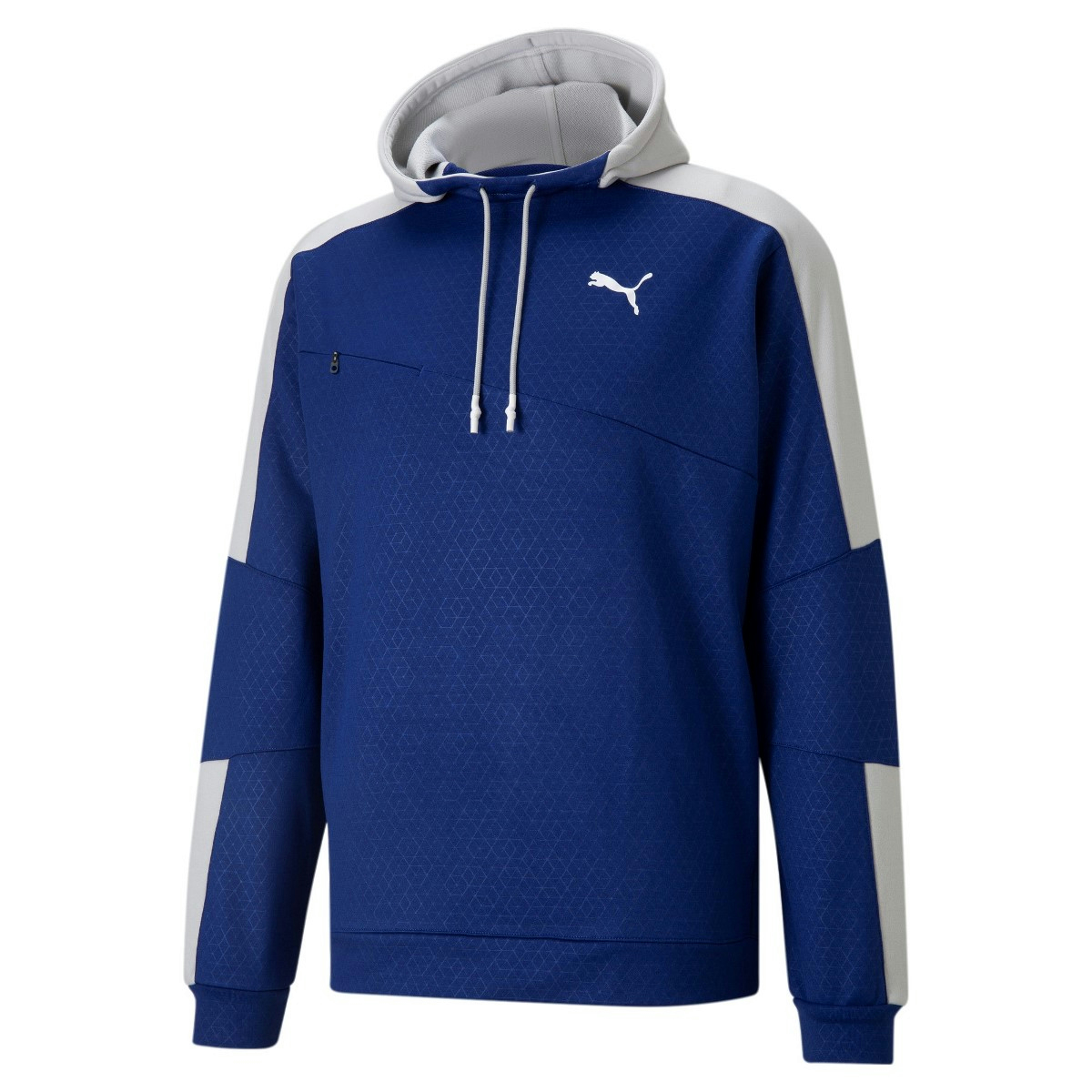 TRAIN ACTIVATE HOODIE M blau
