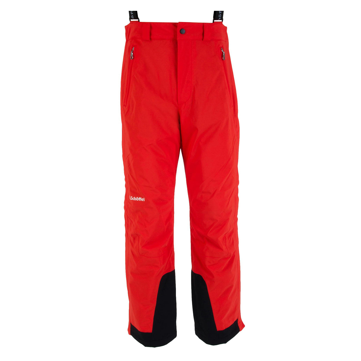 Stretchpants Zip M RT rot