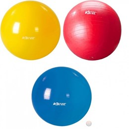 Fitnessball Gymnic/EXERCISE rot/blau/gelb