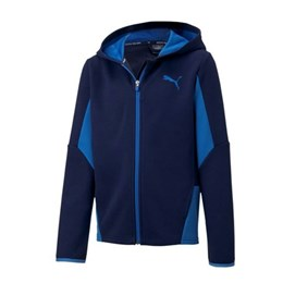 ACTIVE SPORTS HOODED JACKE Kids blau