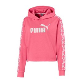 AMPLIFIED CROPPED HOODY TR W pink