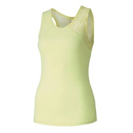 Studio Graphic Mesh Tank W lime