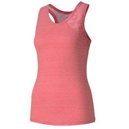 Studio Graphic Mesh Tank pink