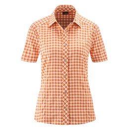 Da-Bluse 1/2 Arm el. Sana S/S orange