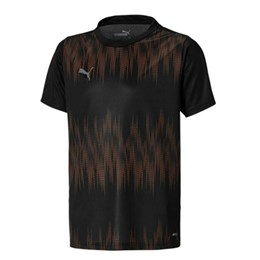 ftblNXT Graphic Shirt Core Jr schwarz