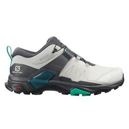 SHOES X ULTRA 4 GTX W LunRoc/Ebony/Mint grau